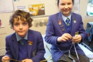 Y6 After School French Knitting Club