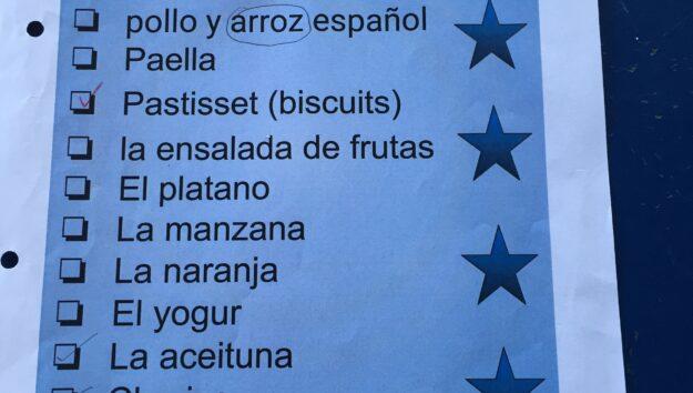 Almuerzo Español