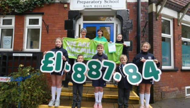 Brabyns Raises £1887.84 for Macmillan