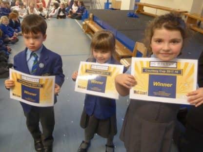 Certificate Winners 10.1.18