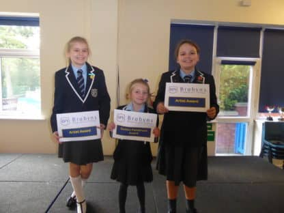 Certificate Winners 11 October 2018
