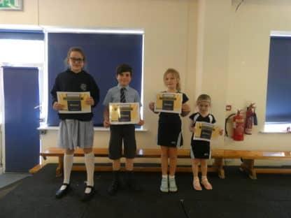 Certificate Winners 15.5.19