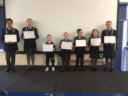 Certificate Winners 21 March 2019
