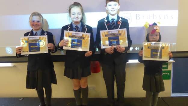 Certificate Winners 29.11.18