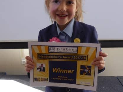 Certificate Winners 5 October 2017