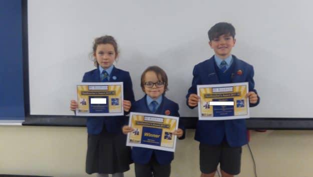 Certificate Winners 6.12.17