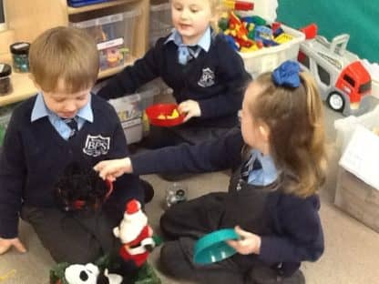 Christmas in Reception