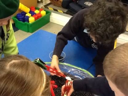Extending Learning in Reception