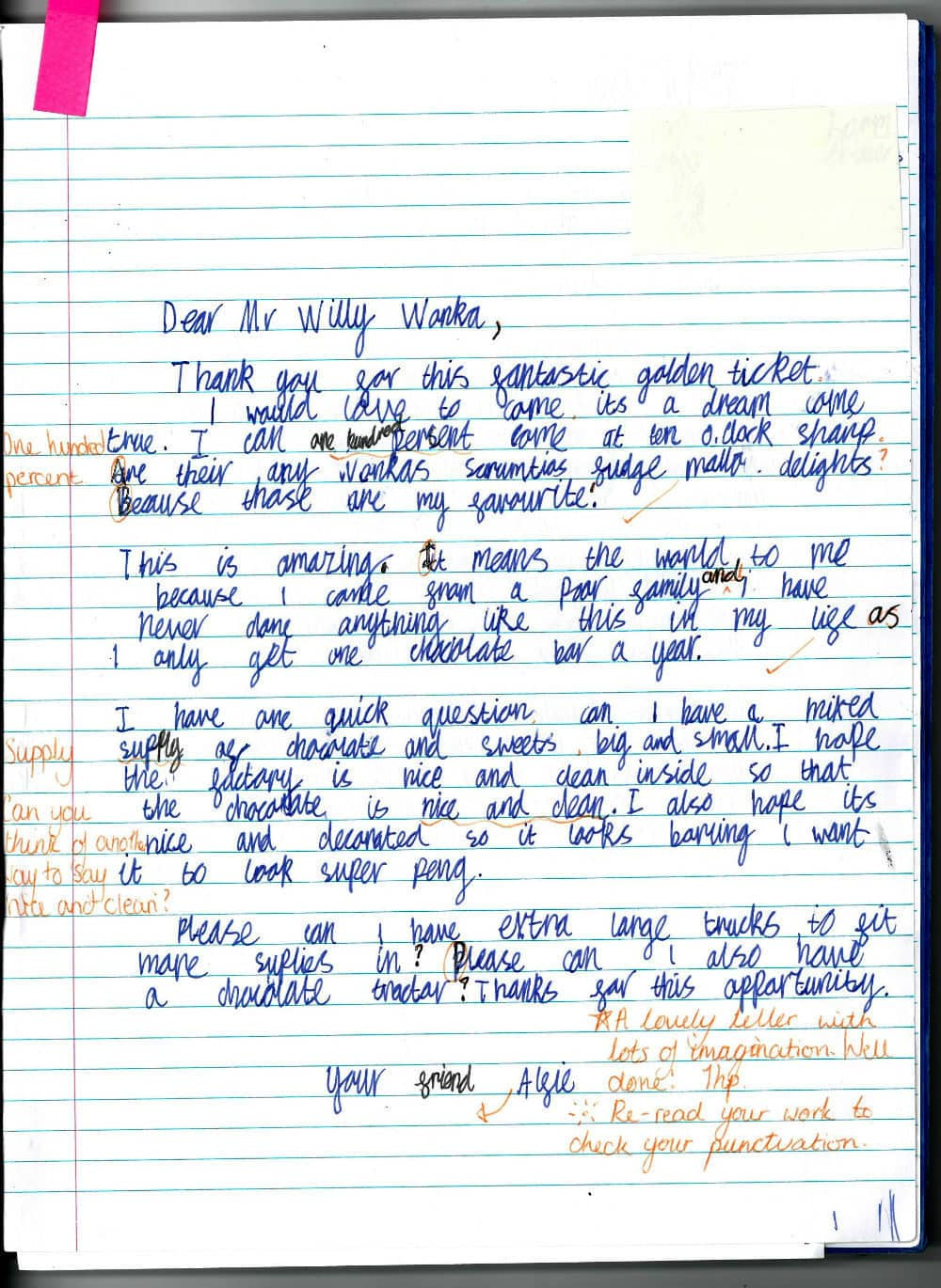 Learning To Letter Write In Year 4 Brabyns Preparatory