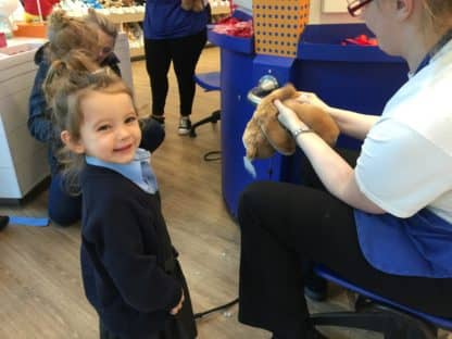Nursery Build a Bear Trip