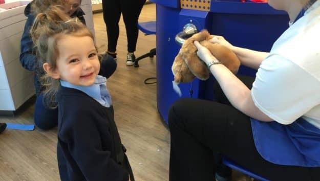Nursery Build a Bear Trip