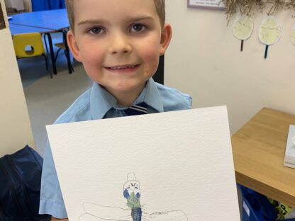 Observational Drawing in Reception