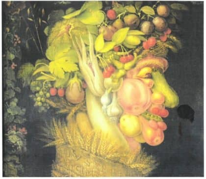 Reception Giuseppe Arcimboldo Paintings