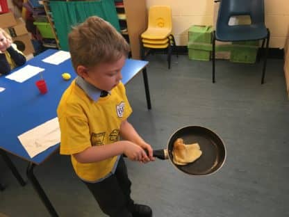 Life in Reception at Brabyns