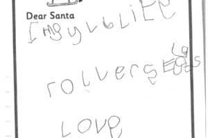 Reception Santa Letters 2