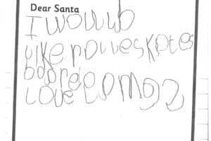 Reception Santa Letters 4