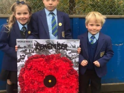 Remembrance Day Poppies 2018