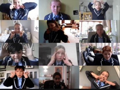 Virtual Class Photos