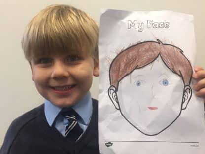 Year 1 Anti-Bullying Drawings