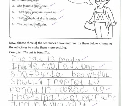 Year 1 Sentence Writing