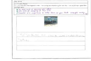 Y1 Independent Writing 10