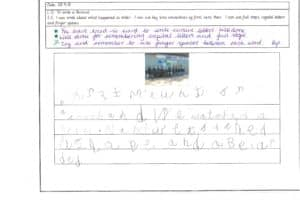 Y1 Independent Writing 2