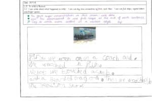 Y1 Independent Writing 8