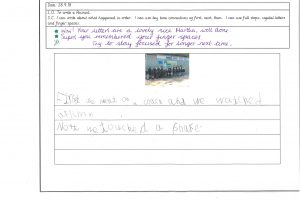 Y1 Independent writing 1