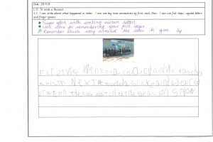 Y1 Independent writing 3
