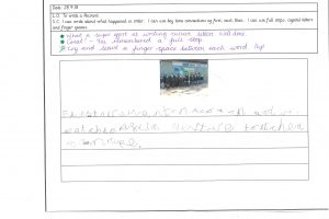 Y1 Independent writing 6
