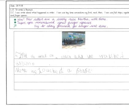 Year 1 Independent Writing