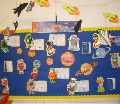 Year 1 Journey Topic - Space Monster Travel