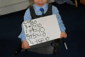 Year 1 Maths Number Bonds 11