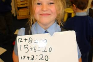 Year 1 Maths Number Bonds 4