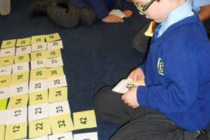 Year 1 Maths Number Bonds 7