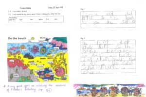 Y1 Work Froodas Holiday 5