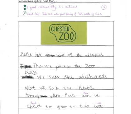 Year 2 Zoo trip