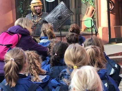 Year 3 & 4 Chester Trip for their topic on 'Romans'