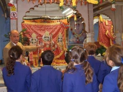 Year 3 & 4 Hindu Temple Visit