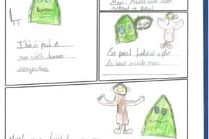 Year 4 Cartoons 1