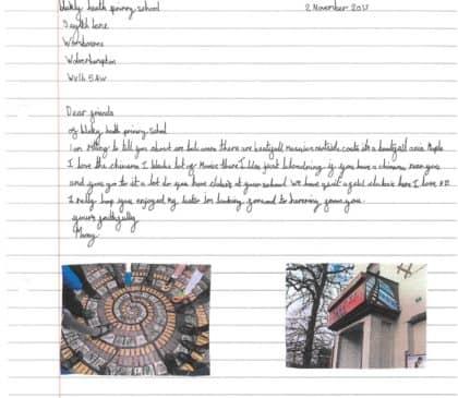Year 4 Work Samples - Great Britain Topic