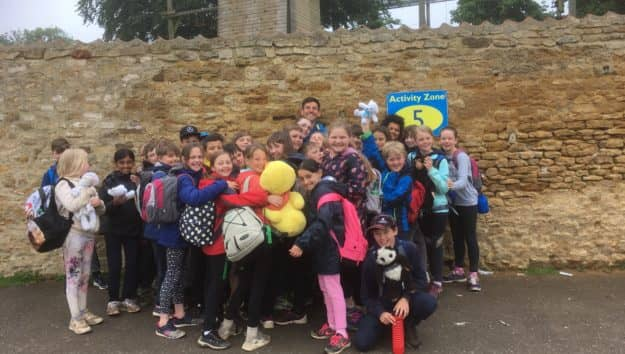 Year 5 & 6 Caythorpe Residential