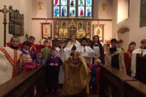 Y5 Rec Buddies Church Visit 6