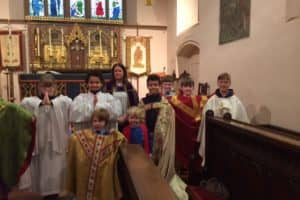 Y5 Rec Buddies Church Visit