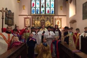 Y5 Rec Buddies Church Visit 5