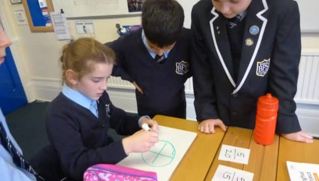 Year 5 Debate Fractions in Maths to Develop Understanding