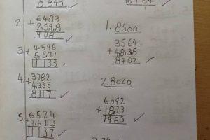 Y5 Maths Calculation
