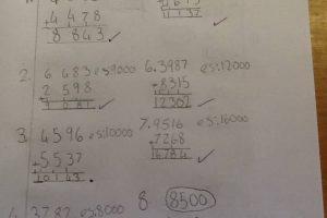 Year 5 Maths Calculation 1