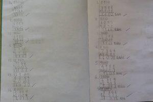 Year 5 Maths Calculation 2