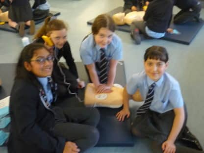 Year 6 -  Bikeability and Millie's Trust First Aid Training